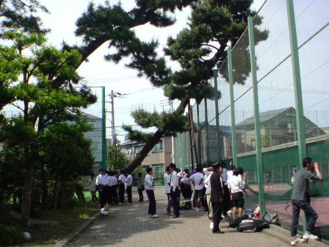 県大会団体戦会場の相模大野高校